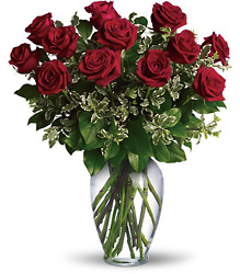 Always on My Mind - Dozen Roses from Martinsville Florist, flower shop in Martinsville, NJ